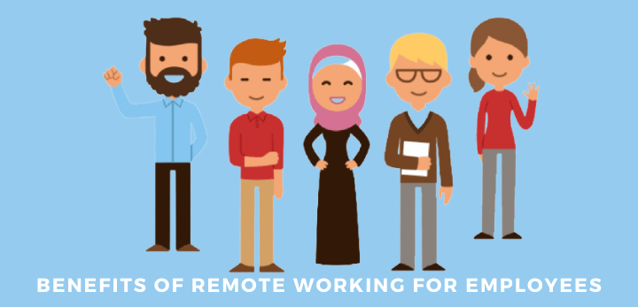 benefits of remote working for employees