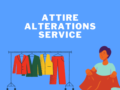 small business type attire alterations Service