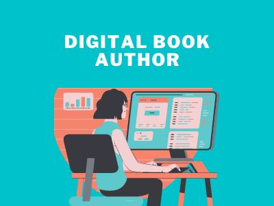 Digital book Author small business