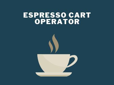 Espresso Cart Operator