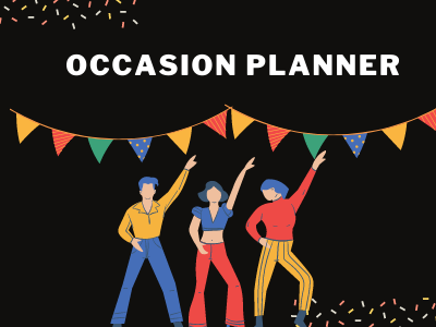 Occasion Planner