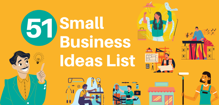 51 great small business ideas list   creative small business by invedus