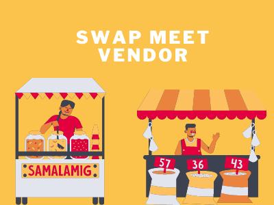 Swap meet Vendor