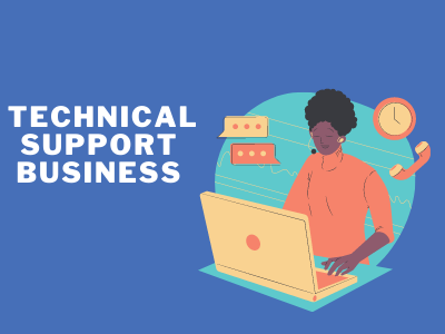 Technical support Business Top small business