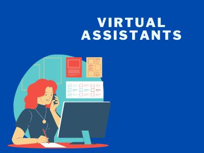 Virtual assistants as a job