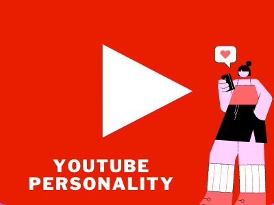 YouTube Personality Small business ideas