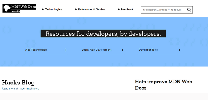 best-forums-for-programmers-mdn-web-docs