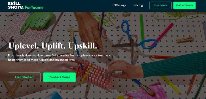 skillshare online learning platforms